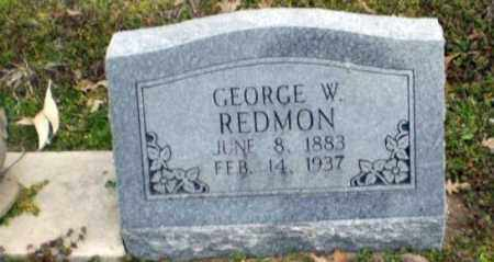 REDMON, GEORGE W. - Clay County, Arkansas | GEORGE W. REDMON - Arkansas Gravestone Photos