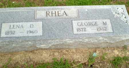 RHEA, LENA - Clay County, Arkansas | LENA RHEA - Arkansas Gravestone Photos