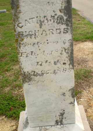 RICHARDS, CATHARINE - Clay County, Arkansas | CATHARINE RICHARDS - Arkansas Gravestone Photos