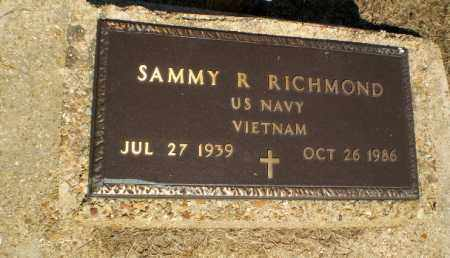 RICHMOND (VETERAN VIET), SAMMY R - Clay County, Arkansas | SAMMY R RICHMOND (VETERAN VIET) - Arkansas Gravestone Photos