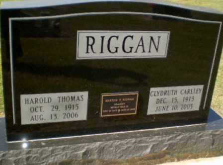RIGGAN (VETERAN WWII), HAROLD THOMAS - Clay County, Arkansas | HAROLD THOMAS RIGGAN (VETERAN WWII) - Arkansas Gravestone Photos