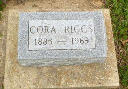 RIGGS, CORA - Clay County, Arkansas | CORA RIGGS - Arkansas Gravestone Photos
