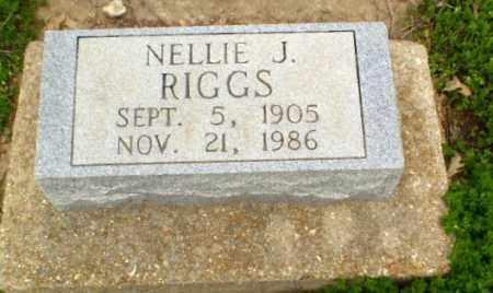 RIGGS, NELLIE - Clay County, Arkansas   NELLIE RIGGS - Arkansas Gravestone Photos