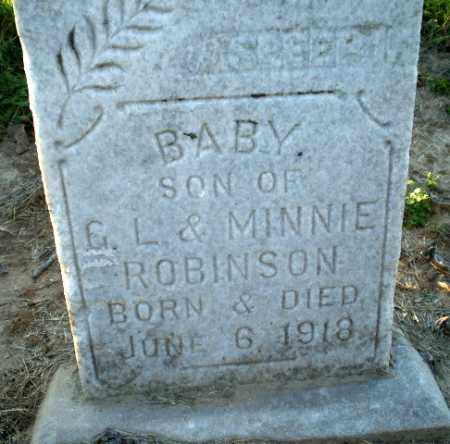 ROBINSON, BABY - Clay County, Arkansas | BABY ROBINSON - Arkansas Gravestone Photos