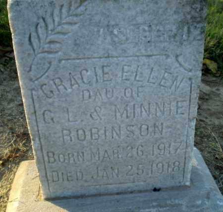ROBINSON, GRACIE ELLEN - Clay County, Arkansas | GRACIE ELLEN ROBINSON - Arkansas Gravestone Photos
