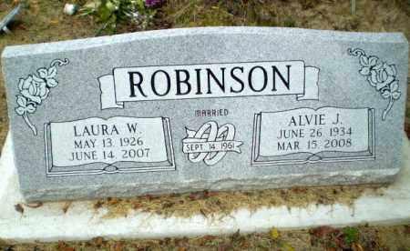 ROBINSON, ALVIE J - Clay County, Arkansas | ALVIE J ROBINSON - Arkansas Gravestone Photos