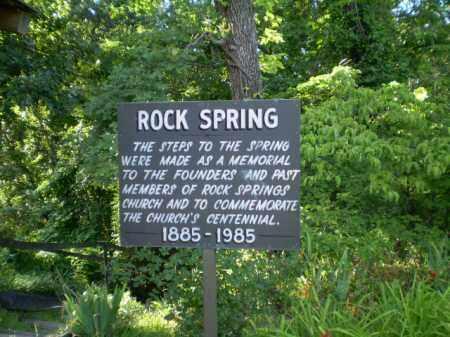 *ROCK SPRINGS MEMORIAL, SIGN - Clay County, Arkansas   SIGN *ROCK SPRINGS MEMORIAL - Arkansas Gravestone Photos