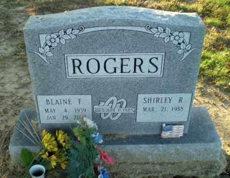 ROGERS, BLAINE F - Clay County, Arkansas | BLAINE F ROGERS - Arkansas Gravestone Photos