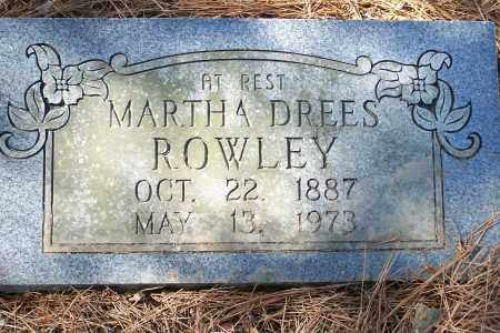 DEES ROWLEY, MARTHA - Clay County, Arkansas | MARTHA DEES ROWLEY - Arkansas Gravestone Photos