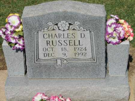 RUSSELL, CHARLES D. - Clay County, Arkansas | CHARLES D. RUSSELL - Arkansas Gravestone Photos