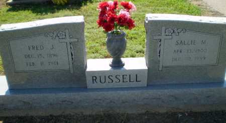 RUSSELL, SALLIE M - Clay County, Arkansas | SALLIE M RUSSELL - Arkansas Gravestone Photos