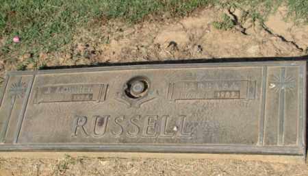 RUSSELL, J. LOWELL - Clay County, Arkansas | J. LOWELL RUSSELL - Arkansas Gravestone Photos