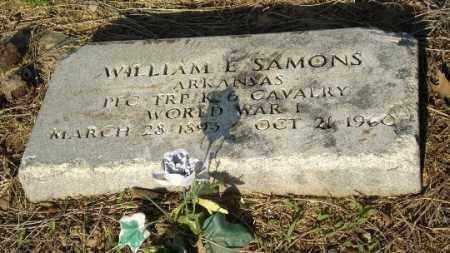 SAMONS (VETERAN WWI), WILLIAM - Clay County, Arkansas | WILLIAM SAMONS (VETERAN WWI) - Arkansas Gravestone Photos