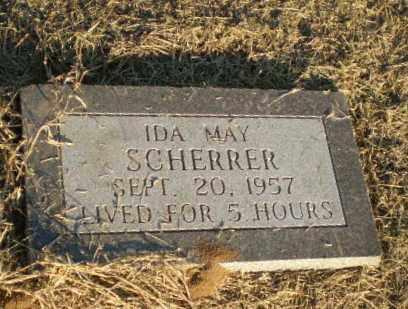 SCHERRER, IDA MAY - Clay County, Arkansas | IDA MAY SCHERRER - Arkansas Gravestone Photos