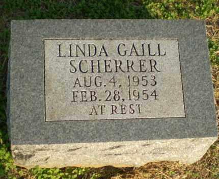 SCHERRER, LINDA GAILL - Clay County, Arkansas | LINDA GAILL SCHERRER - Arkansas Gravestone Photos