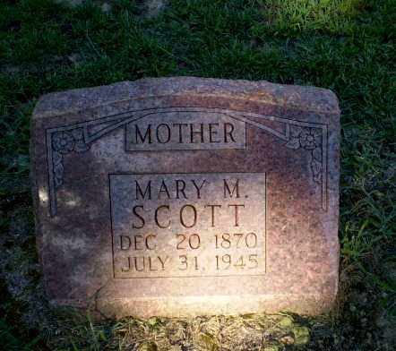 SCOTT, MARY M - Clay County, Arkansas   MARY M SCOTT - Arkansas Gravestone Photos
