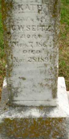 SEITZ, KATE - Clay County, Arkansas | KATE SEITZ - Arkansas Gravestone Photos