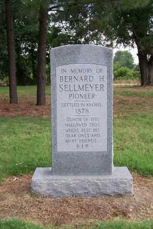 SELLMEYER, BERNARD H. - Clay County, Arkansas | BERNARD H. SELLMEYER - Arkansas Gravestone Photos