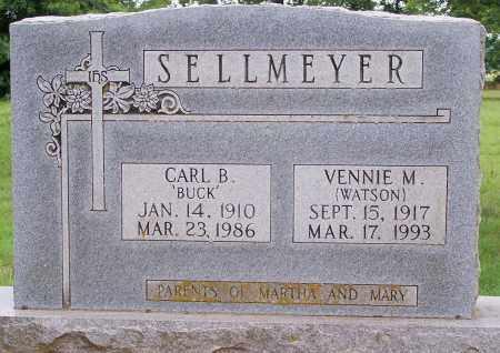 SELLMEYER, CARL B - Clay County, Arkansas | CARL B SELLMEYER - Arkansas Gravestone Photos