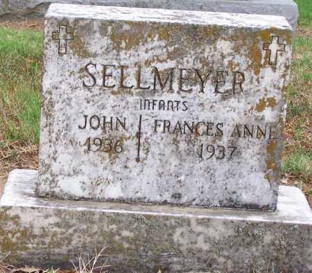 SELLMEYER, FRANCES ANN - Clay County, Arkansas   FRANCES ANN SELLMEYER - Arkansas Gravestone Photos