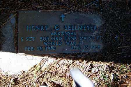 SELLMEYER (VETERAN WWII), HENRY G. - Clay County, Arkansas | HENRY G. SELLMEYER (VETERAN WWII) - Arkansas Gravestone Photos