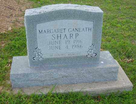 SHARP, MARGARET GANEATH - Clay County, Arkansas | MARGARET GANEATH SHARP - Arkansas Gravestone Photos