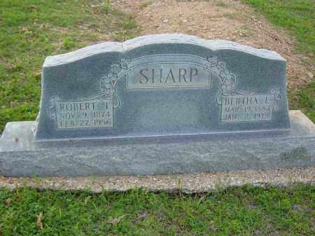 JUSTUS SHARP, BERTHA LEE - Clay County, Arkansas   BERTHA LEE JUSTUS SHARP - Arkansas Gravestone Photos