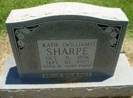 SHARPE, KATIE - Clay County, Arkansas | KATIE SHARPE - Arkansas Gravestone Photos