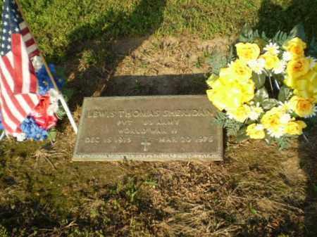 SHERIDAN  (VETERAN WWII), LEWIS THOMAS - Clay County, Arkansas | LEWIS THOMAS SHERIDAN  (VETERAN WWII) - Arkansas Gravestone Photos