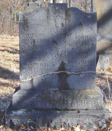 SIDES, SARAH A - Clay County, Arkansas | SARAH A SIDES - Arkansas Gravestone Photos