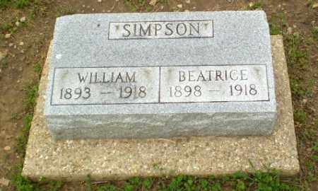 SIMPSON, BEATRICE - Clay County, Arkansas   BEATRICE SIMPSON - Arkansas Gravestone Photos