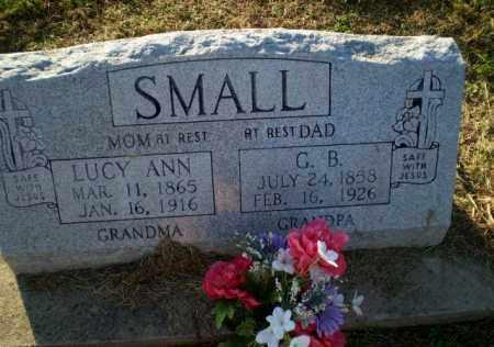 SMALL, LUCY ANN - Clay County, Arkansas | LUCY ANN SMALL - Arkansas Gravestone Photos