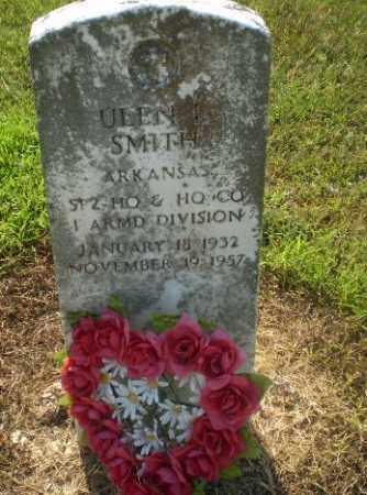 SMITH  (VETERAN), ULEN L - Clay County, Arkansas   ULEN L SMITH  (VETERAN) - Arkansas Gravestone Photos