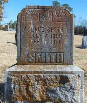 SMITH, CLAUD - Clay County, Arkansas | CLAUD SMITH - Arkansas Gravestone Photos