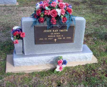 SMITH  (VETERAN WWII), JOHN RAY - Clay County, Arkansas   JOHN RAY SMITH  (VETERAN WWII) - Arkansas Gravestone Photos
