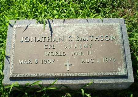 SMITHSON  (VETERAN WWII), JONATHAN C - Clay County, Arkansas | JONATHAN C SMITHSON  (VETERAN WWII) - Arkansas Gravestone Photos