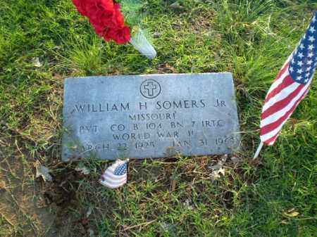 SOMERS JR. (VETERAN WWII), WILLIAM H - Clay County, Arkansas   WILLIAM H SOMERS JR. (VETERAN WWII) - Arkansas Gravestone Photos