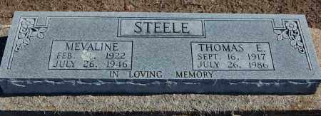 STEELE, MEVALINE - Clay County, Arkansas | MEVALINE STEELE - Arkansas Gravestone Photos