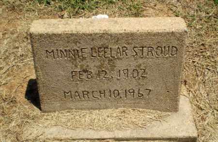 BEELAR STROUD, MINNIE - Clay County, Arkansas | MINNIE BEELAR STROUD - Arkansas Gravestone Photos
