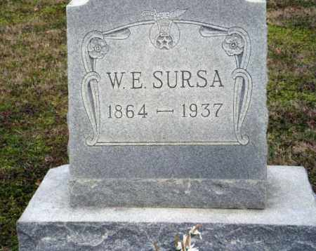 SURSA, W. E. - Clay County, Arkansas | W. E. SURSA - Arkansas Gravestone Photos