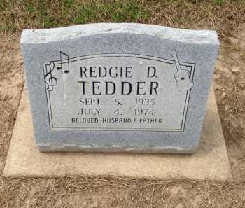 TEDDER, REDGIE D. - Clay County, Arkansas   REDGIE D. TEDDER - Arkansas Gravestone Photos