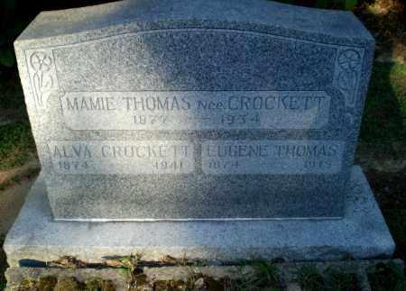 THOMAS, MAMIE - Clay County, Arkansas | MAMIE THOMAS - Arkansas Gravestone Photos