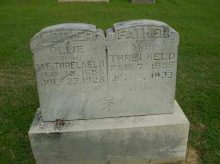 THRELKELD, M.F. - Clay County, Arkansas | M.F. THRELKELD - Arkansas Gravestone Photos
