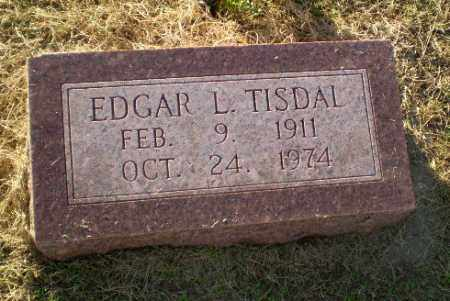 TISDAL, EDGAR L - Clay County, Arkansas | EDGAR L TISDAL - Arkansas Gravestone Photos
