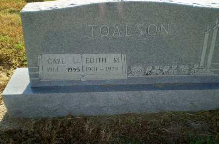 TOALSON, EDITH M - Clay County, Arkansas   EDITH M TOALSON - Arkansas Gravestone Photos