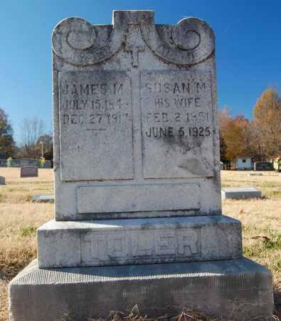 HELTON TOLER, SUSAN M. - Clay County, Arkansas | SUSAN M. HELTON TOLER - Arkansas Gravestone Photos