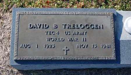 TRELOGGEN (VETERAN WWII), DAVID B - Clay County, Arkansas | DAVID B TRELOGGEN (VETERAN WWII) - Arkansas Gravestone Photos