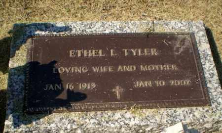 TYLER, ETHEL L - Clay County, Arkansas | ETHEL L TYLER - Arkansas Gravestone Photos