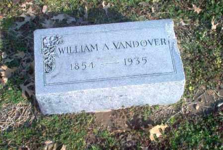 VANDOVER, WILLIAM A. - Clay County, Arkansas | WILLIAM A. VANDOVER - Arkansas Gravestone Photos