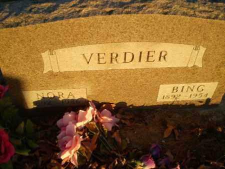 VERDIER, BING - Clay County, Arkansas   BING VERDIER - Arkansas Gravestone Photos